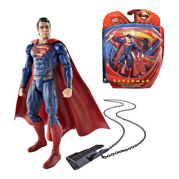 Superman Man of Steel Movie Masters Superman with Key Figure