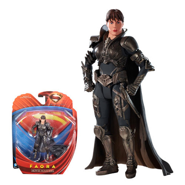 Superman Man of Steel Movie Masters Faora Action Figure