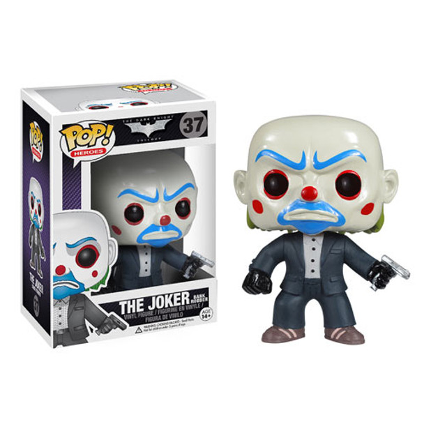 Batman Dark Knight The Joker Bank Robber Pop! Vinyl Figure