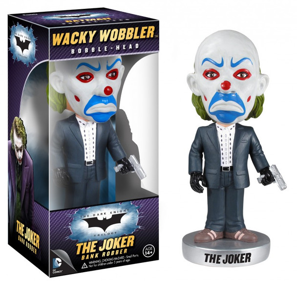 Batman Dark Knight The Joker Bank Robber Bobble Head