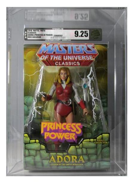 Masters Of The Universe Classics Princess Adora Figure AFA Graded 9.25