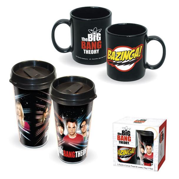 Big Bang Theory Ceramic Mug and Travel Mug Set 2-Pack