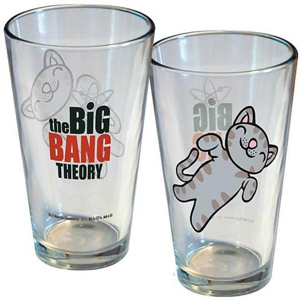 Big Bang Theory Soft Kitty Pint Glass