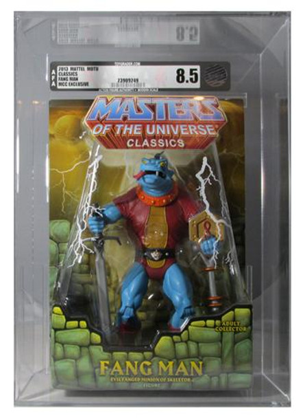 Masters Of The Universe Classics Fang Man Figure AFA Graded 8.5
