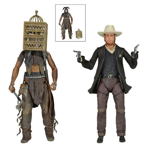 The Lone Ranger 7-Inch Series 2 Action Figure Set