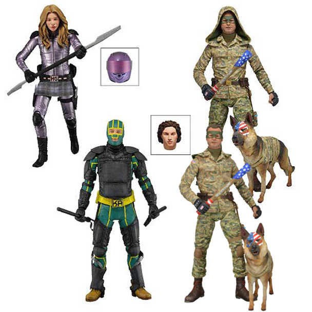 Kick-Ass 2 Series 2 Action Figure Set