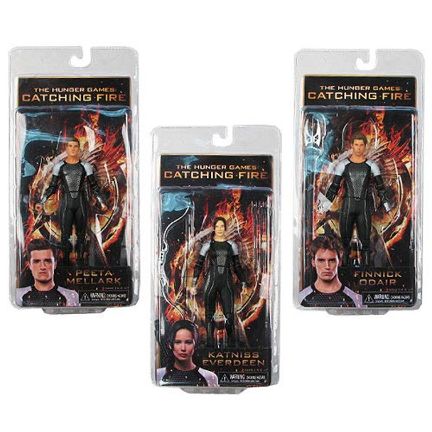 Hunger Games Catching Fire Series 1 Action Figure Set
