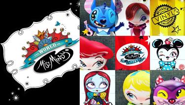 World Of Miss Mindy  Disney Vinyl Figures