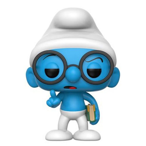 Smurfs Brainy Smurf Pop! Vinyl Figure #271
