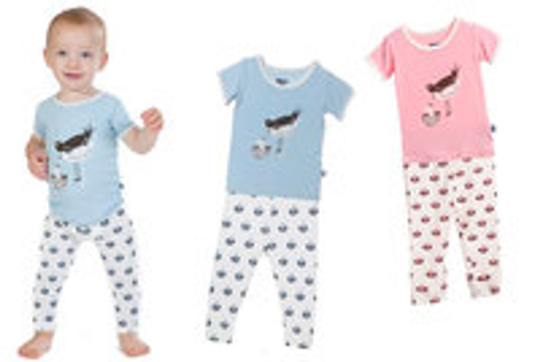 KicKee Pants Two-Piece Pajamas Make Great Bamboo Baby Sleepwear