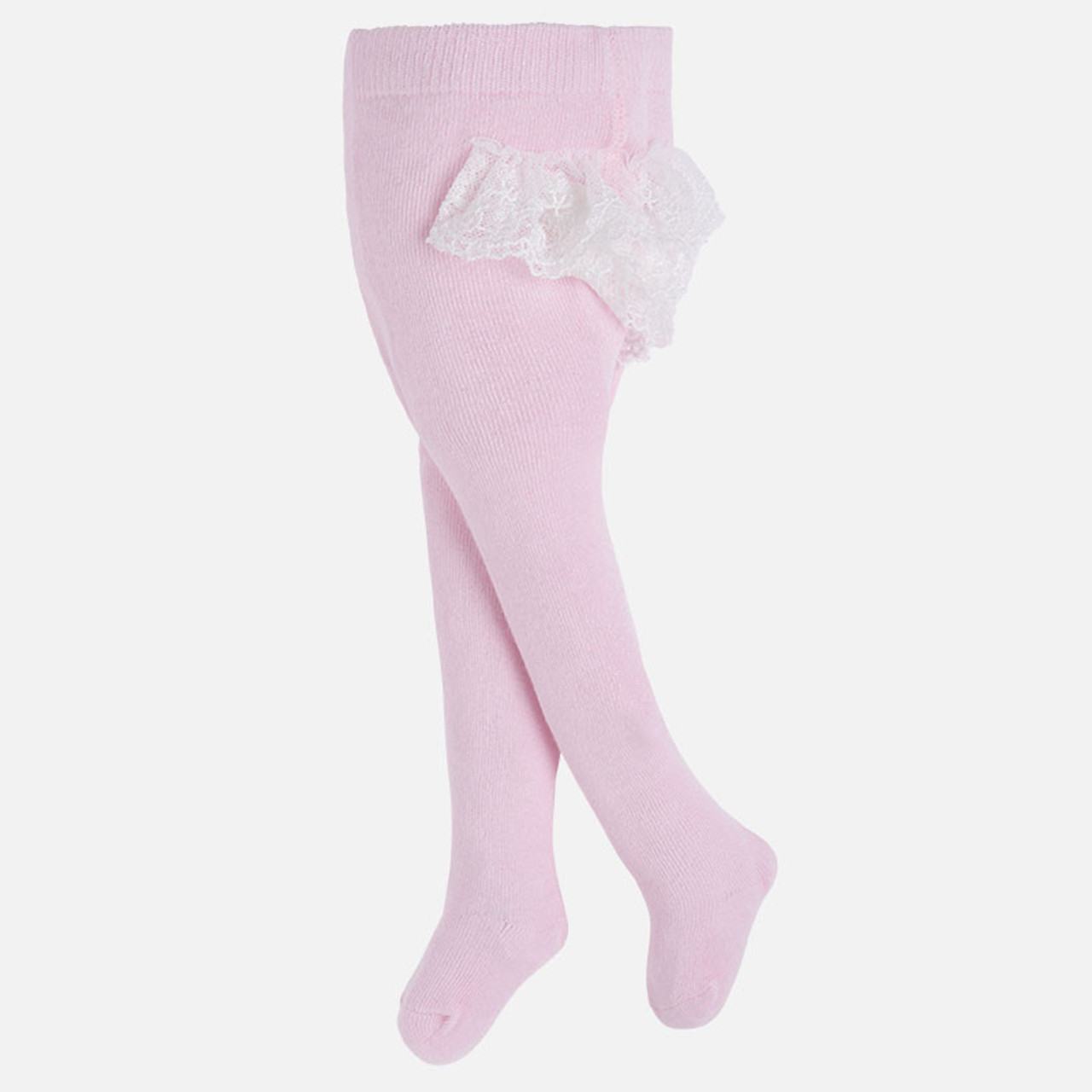 a6b62d8ab2102 Mayoral Baby Girls Frilly Dress Tights - Baby Rose - Two Birdees