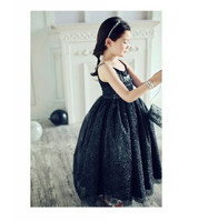 Princess Kelly Dress in Black