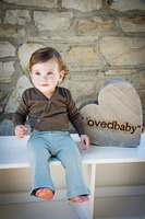 L'ovedbaby 100% Organic Cotton Lounge Pants, Paired with L'ovedBaby bodysuit