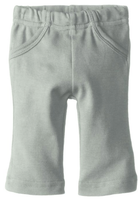 L'ovedbaby 100% Organic Cotton Lounge Pants, Seafoam Front