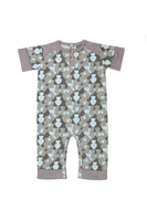Kate Quinn 100% Organic Cotton Henley Jumpsuit, Owl