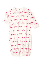 Kate Quinn Organic Classic Infant Sacque, Elephant