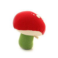 Hazel Village Toad Stool Rattle