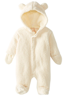 Magnificent Baby, Smart Little Bears Cream Bear Footie