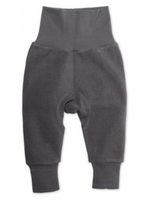 Zutano Cozie Fleece Cuff Pant - Gray