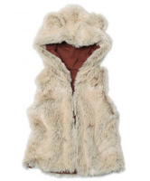 Zutano Shaggy Vest With Ears - Toddler