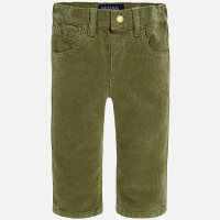 Mayoral Baby Boys Corduroy Trousers, Hunt Green