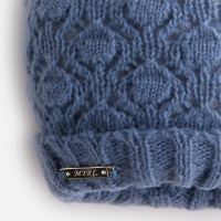 Mayoral Girls Beanie, Scarf and Gloves Set, Blue