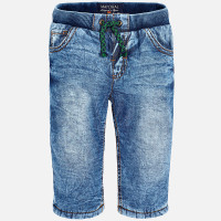 Mayoral Baby Boys Lined Long Trousers, Denim