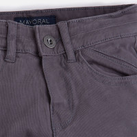 Mayoral Boys Lined Trousers, Grey
