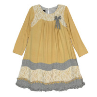 Isobella and Chloe Ginger Pear Dress