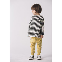 Go Gently Pullover Bow Sweatshirt, Wide Stripe