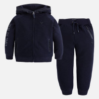 Mayoral Boys Zipped Tracksuit, Dark Blue