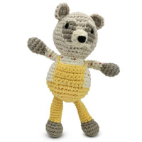 Finn + Emma Rattle Buddy - Dreamworld Raccoon