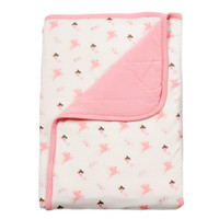 Kyte Baby Printed Baby Blanket - Petal/Mythical 1.0