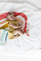 Clementine Kids Rainbow Swaddle