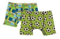 Kickee Pants Boxer Briefs Set of 2 - Amazon Houses & Meadow Soccer