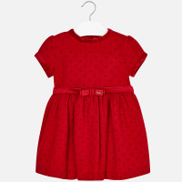 Mayoral Girls Dress - Red