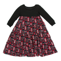 Kickee Pants Print Long Sleeve Tiered Dress - Life About Town