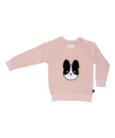 Huxbaby Organic Cotton Frenchie Applique Sweatshirt