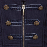 Mayoral Girls Military Jacket - Navy