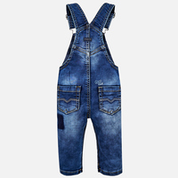 Mayoral Baby Boys Dungarees - Denim
