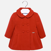 Mayoral Baby Girls Mouflon Coat - Red