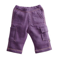 Babysoy Basic Fleece Cargo Pants
