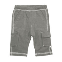 Babysoy Basic Fleece Cargo Pants - Thunder