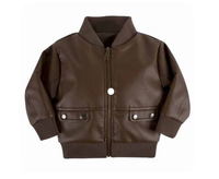 Andy & Evan The Flight School Cognac Jacket
