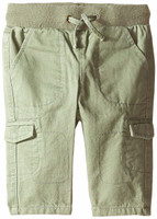 Andy & Evan The Casual Cargo Pant - Camo Green