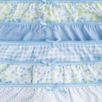 Mayoral Girls Knickers Set of 5 - Baby Blue