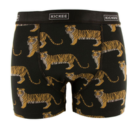 Kickee Pants India Print Men's Boxer Brief - Zebra Tiger