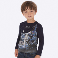 Mayoral Boys Navy Blue T-Shirt