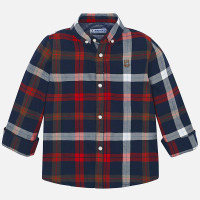 Mayoral Boys Red Slim Fit Shirt