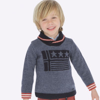 Mayoral Boys Stars and Stripes Sweater